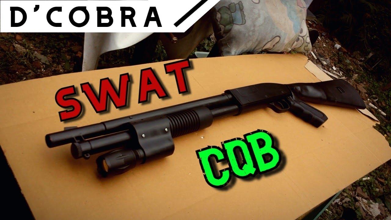 D COBRA M788 MOD M3 Révision du printemps swat cqb