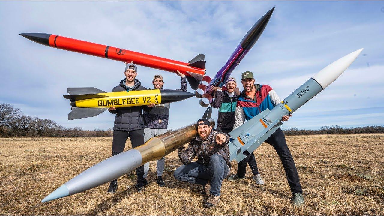 Model Rocket Battle 2 | Parfait mec