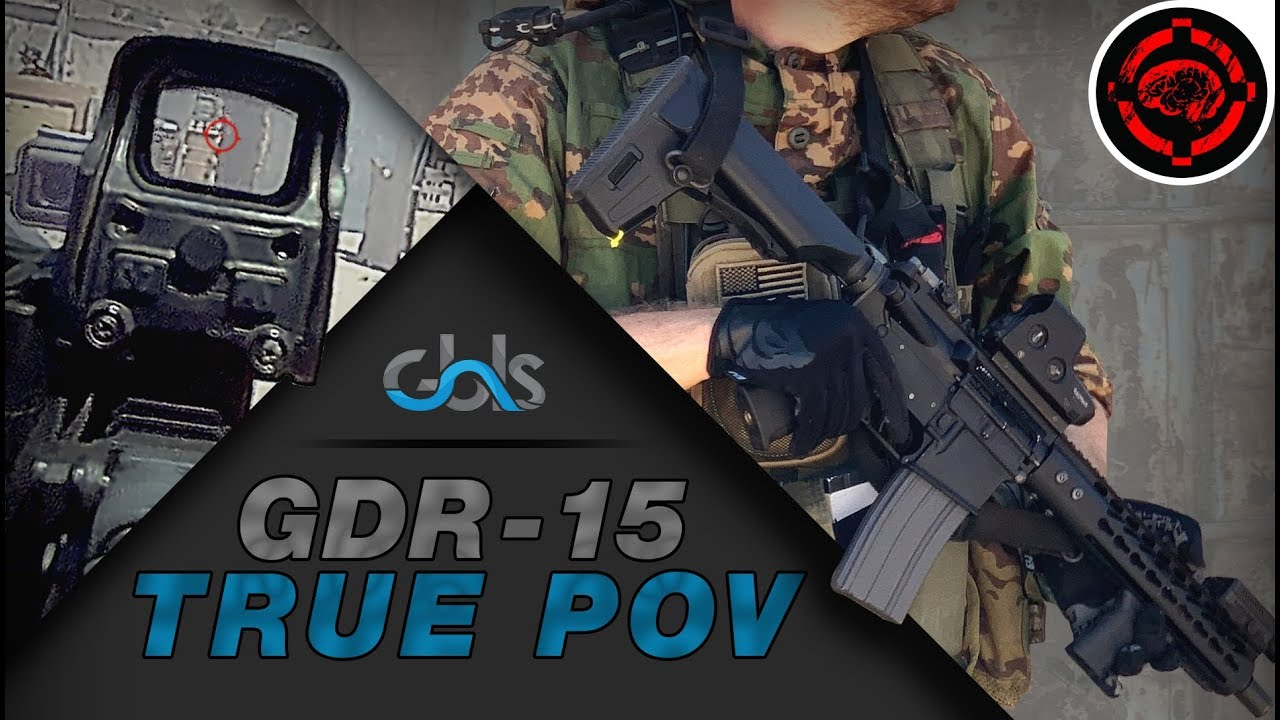 Airsoft POV Gameplay: AEG le plus réaliste (GBLS GDR-15)