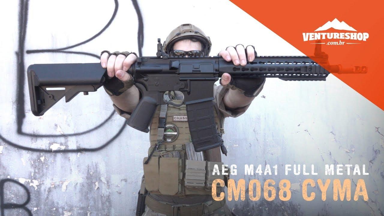Airsoft Rifle AEG M4A1 Test de métal complet CM068 Test de CYMA