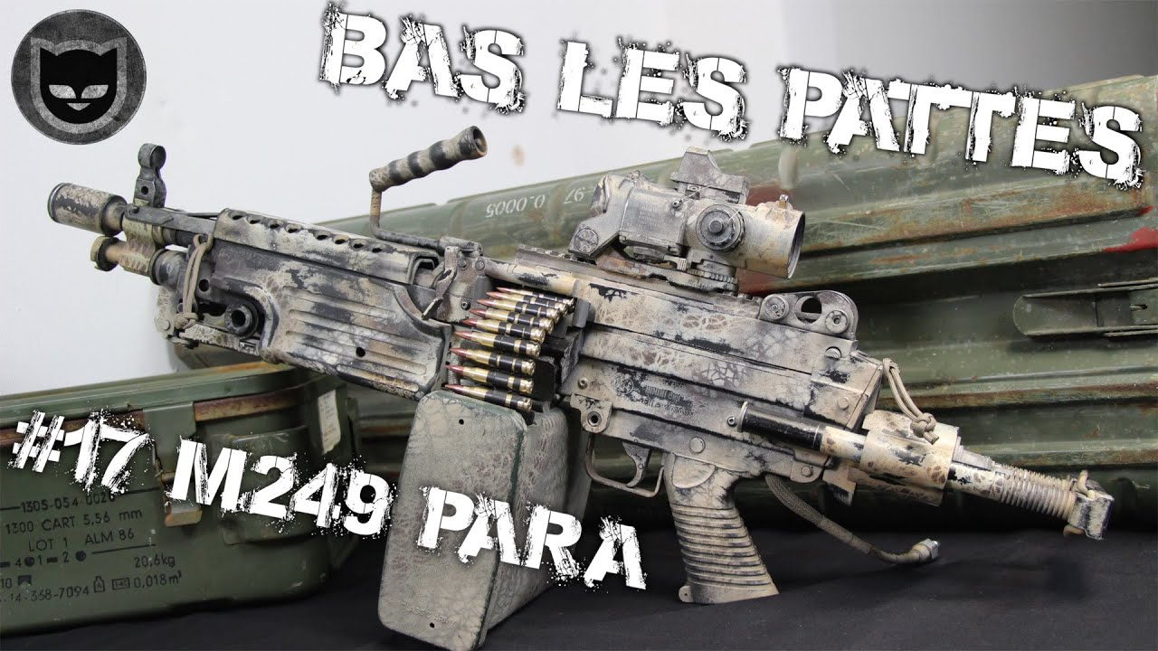 AIRSOFT | REVIEW | TBC | BAS LES PATTES #17 | M249 PARA CLASSIC ARMY ( ENGLISH SUBS )