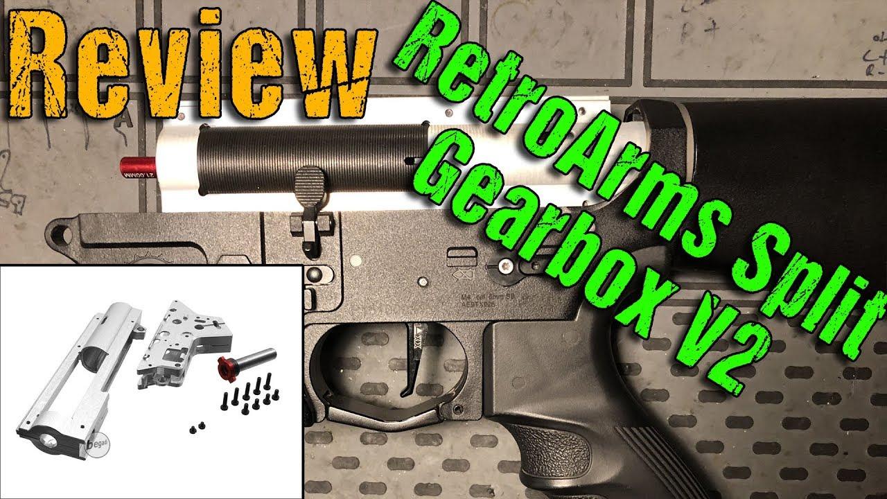 Donnez votre avis sur Retro Arms Split Gearbox V2   Highlander Airsoft