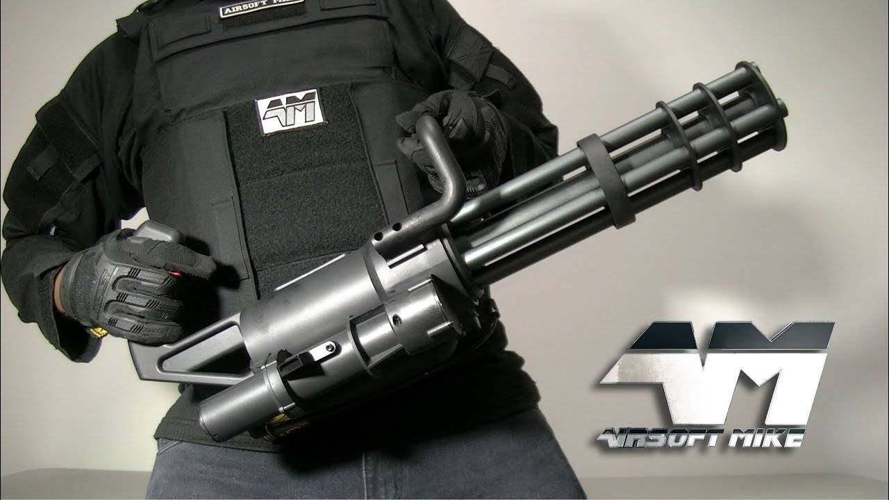 MICROGUN CLASSIQUE DE L'ARMÉE M132 / Airsoft Unboxing Review / Airsoft Minigun