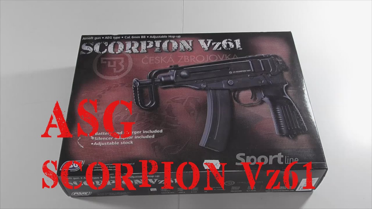 AIRSOFT   REVIEW   TBC   ASG Scorpion VZ61 AEP – SHOOTGAME ( ENGLISH SUBS )