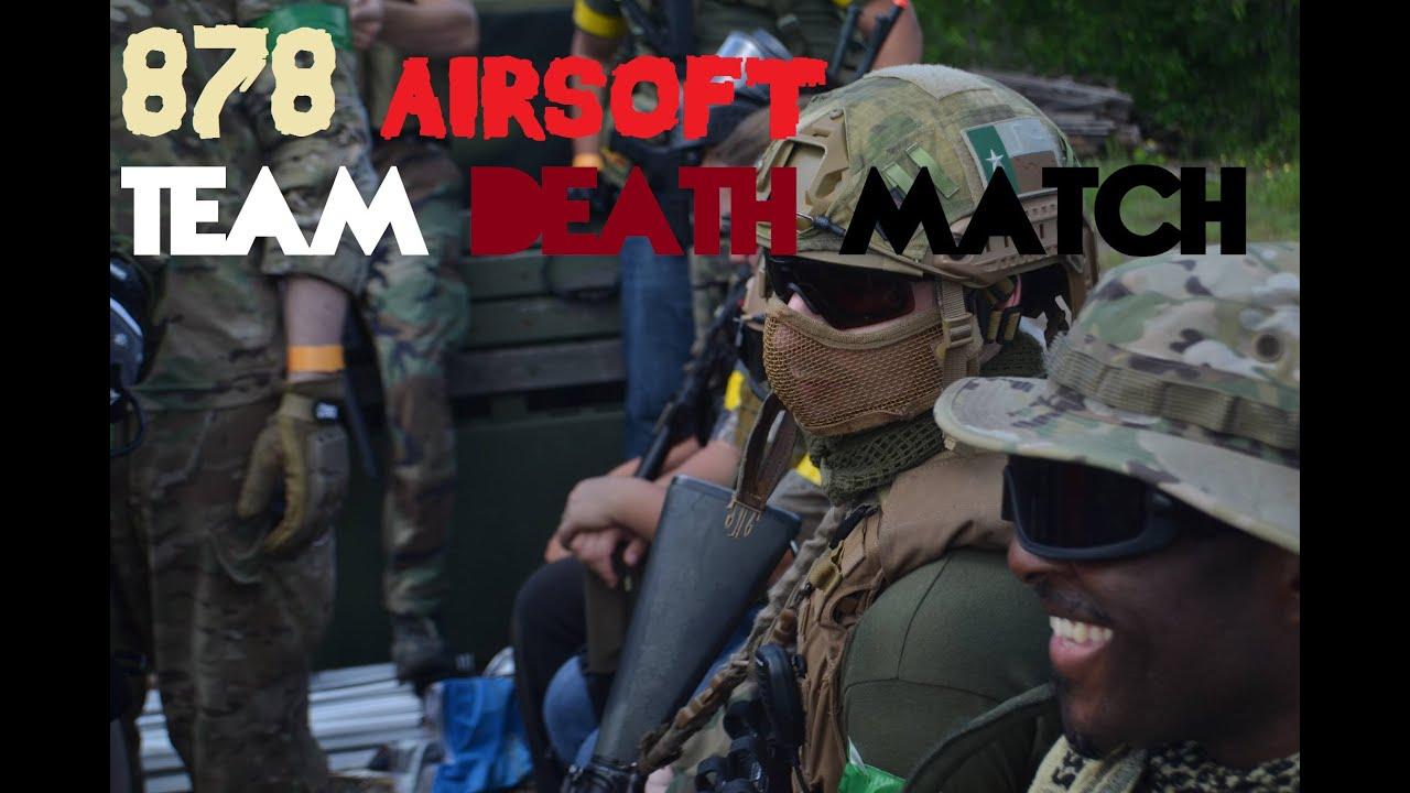 """878 Airsoft: Match à mort par équipe """"Dernier match"""" • 5.21.16 •"""