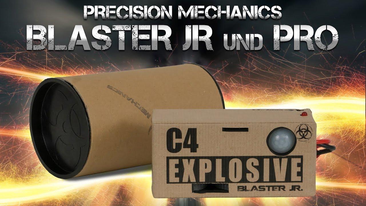 [Review] Mécanique de précision BLASTER C4 PRO + JR. 6mm Airsoft / Airsoft (allemand / DE)