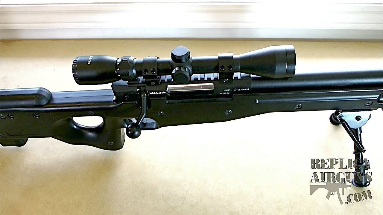 Précision ASG AW .308 International Angleterre Airsoft Sniper Rifle Review