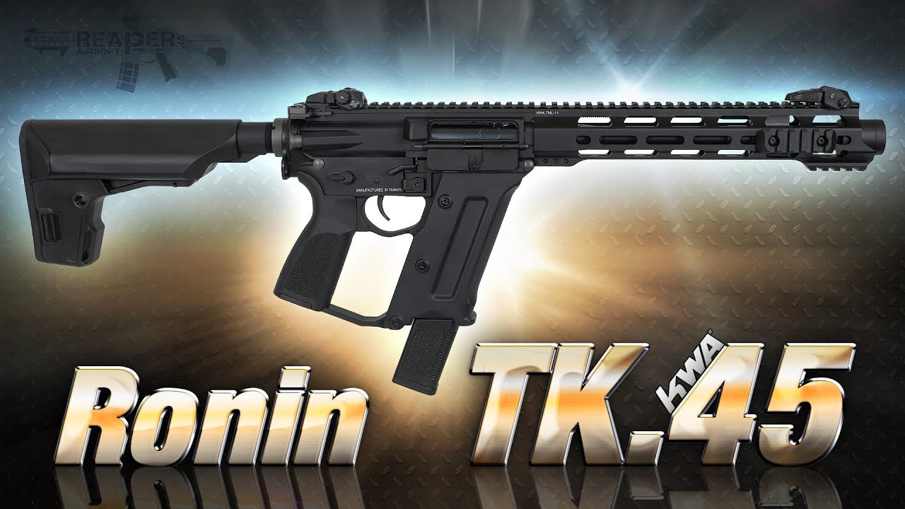 [Review] KWA Ronin TK.45 (Cygne Noir) TK45C 6mm S-AEG Airsoft / Softair (Allemand, DE)
