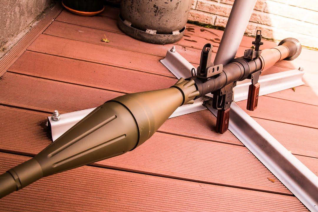 Lance roquette RPG 7 Airsoft review + test de tir FR