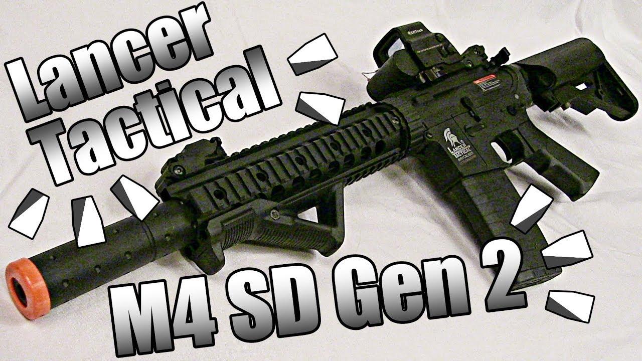 NOUVEAU MEILLEUR DEBUTANT AIRSOFT GUN ?? – Lancer Tactical M4 SD GEN 2 – REVUE COMPLÈTE