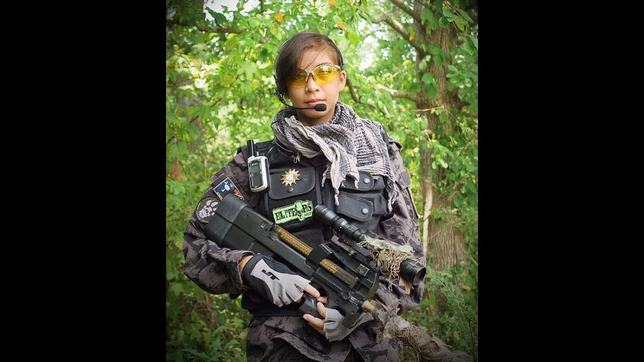 Airsoft GI Uncut – Les filles jouent aussi à Airsoft   Knife Kills par P90 Girl