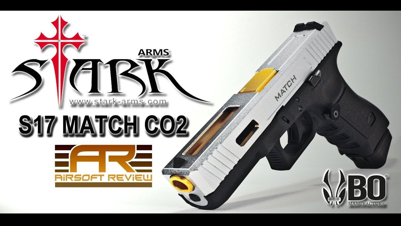 S17 MATCH CO2 STARK ARMS / AIRSOFT REVIEW