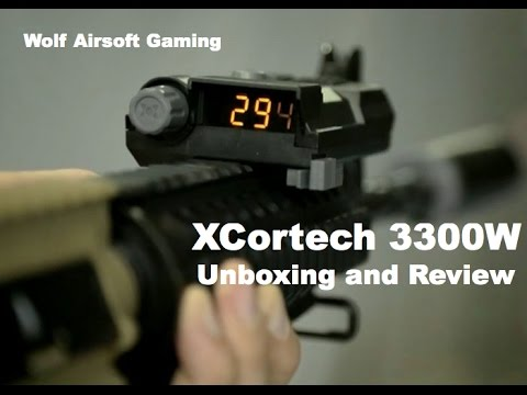 XCORTECH X3300W Airsoft Unboxing et Review