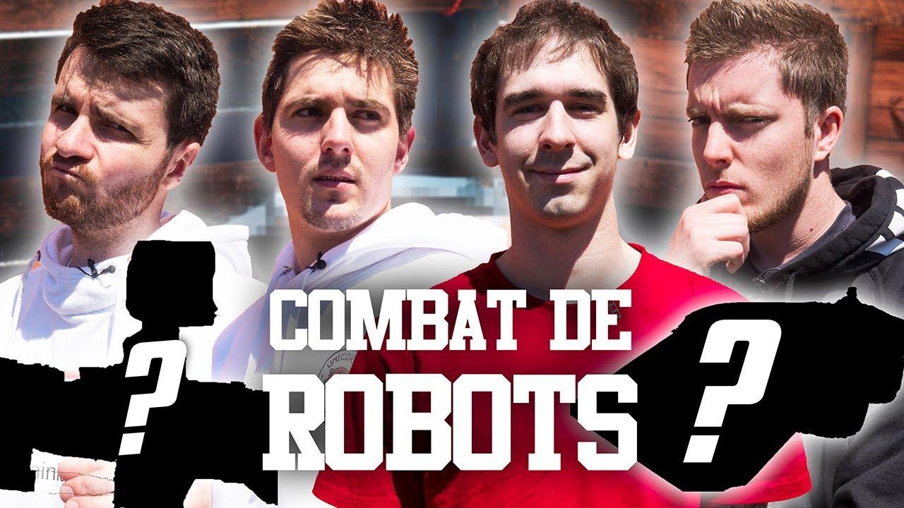 COMBAT DE ROBOTS !