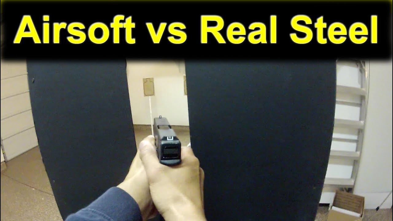 Entraînement aux armes à feu avec Airsoft