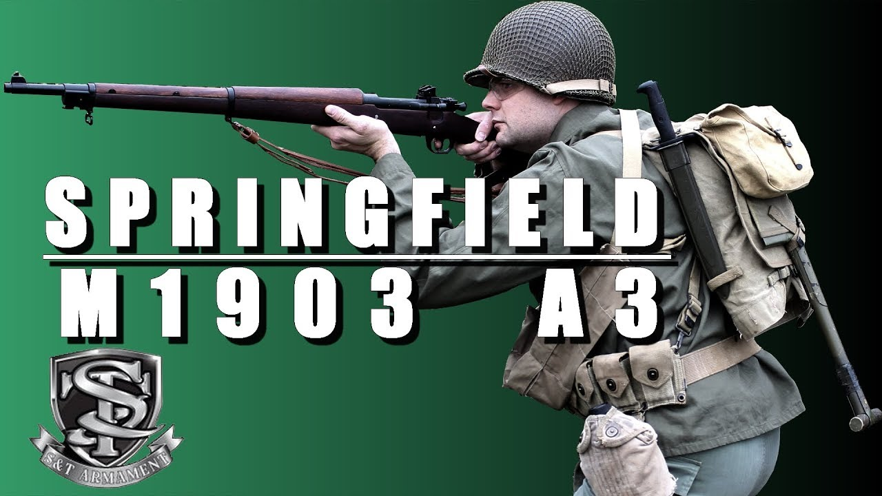 Springfield M1903A3 S&T upgrade TNT – REVIEW AIRSOFT