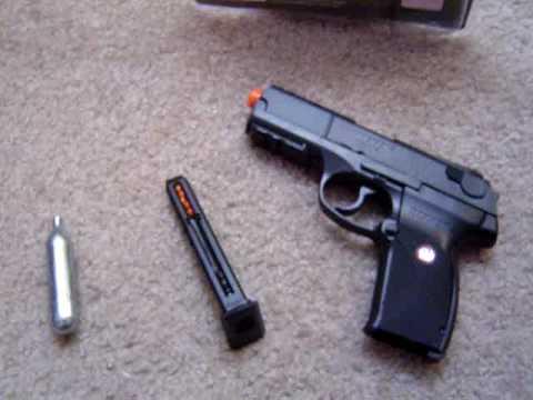 Test du pistolet Airsoft Ruger P345 Co2
