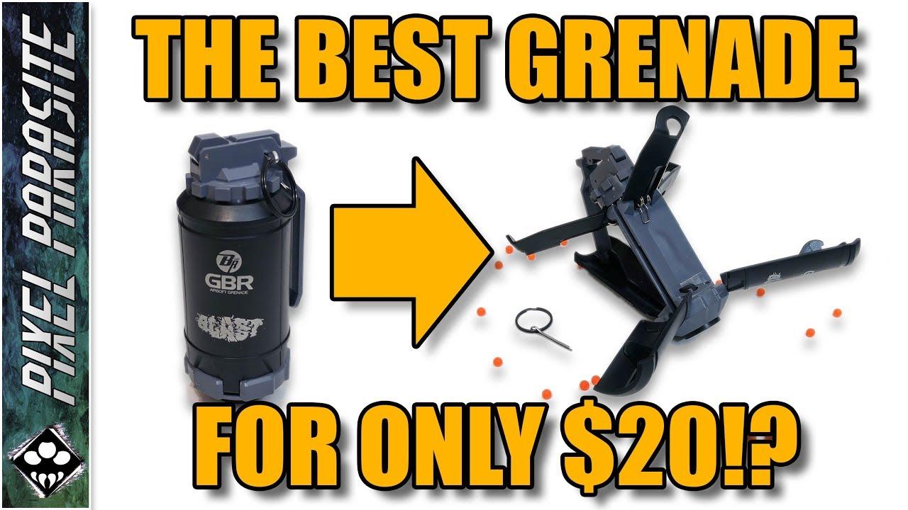 La meilleure grenade pour seulement 20 $!? – Revue GBR Airsoft Grenade