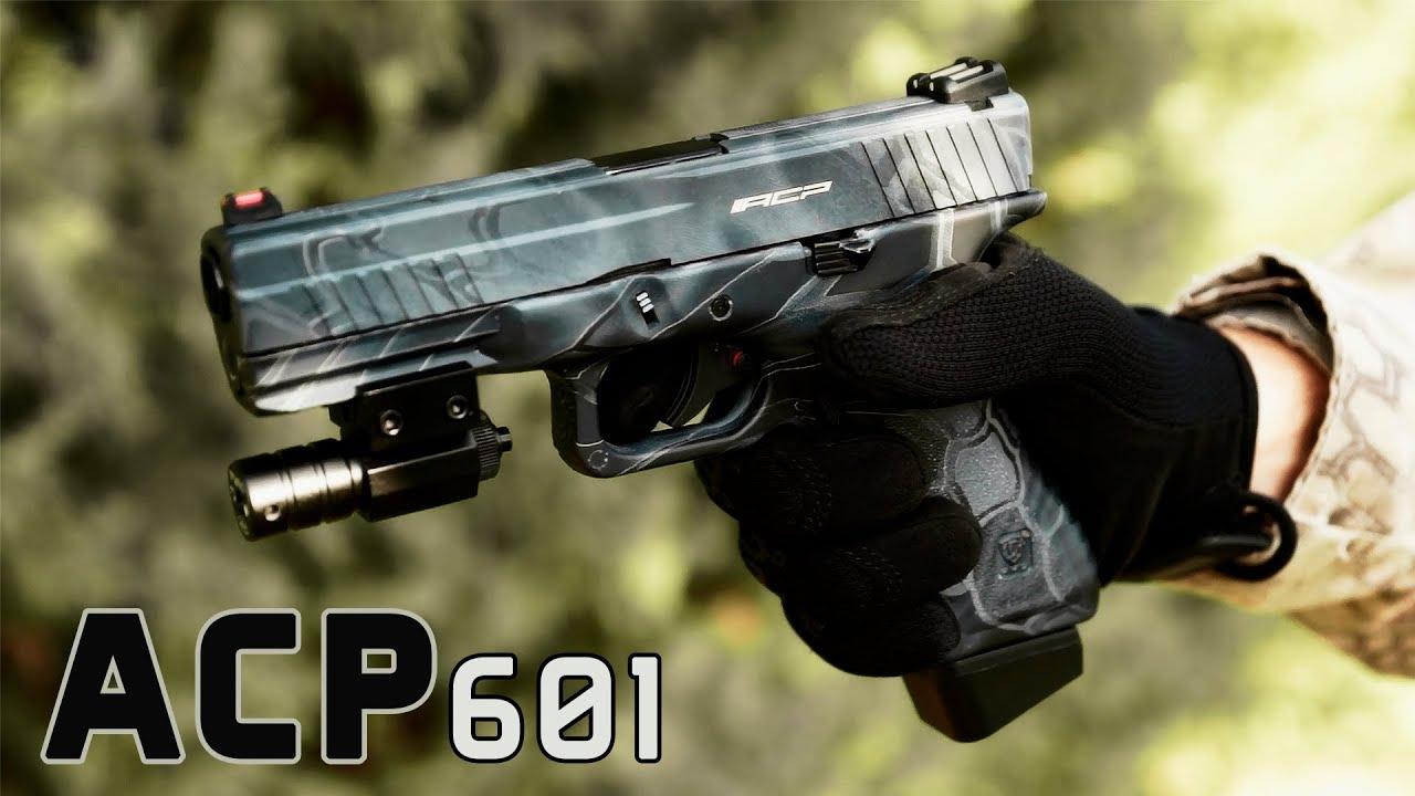 ACP 601 APS personnalisé de Kryptek | Airsoft Review & Shot