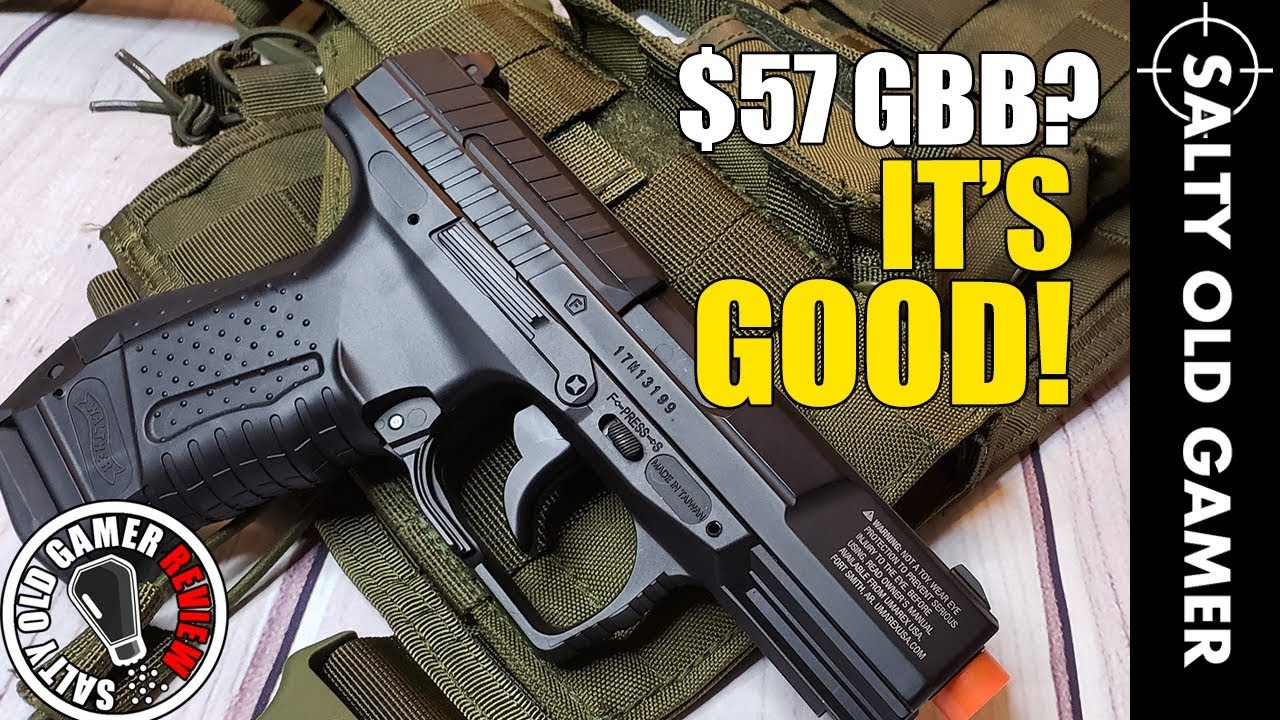 Umarex Walther P99 CO2 GBB Review | SaltyOldGamer Airsoft Review