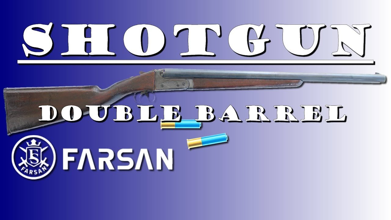 SHOTGUN Double Barrel Farsan – REVIEW AIRSOFT