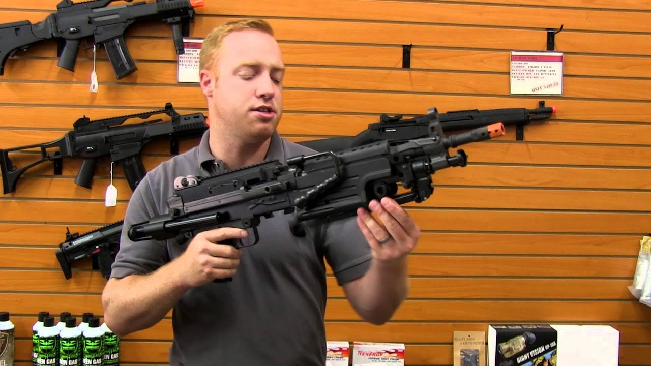 Classic Army M249 SCIE PARA Review | Fox Airsoft