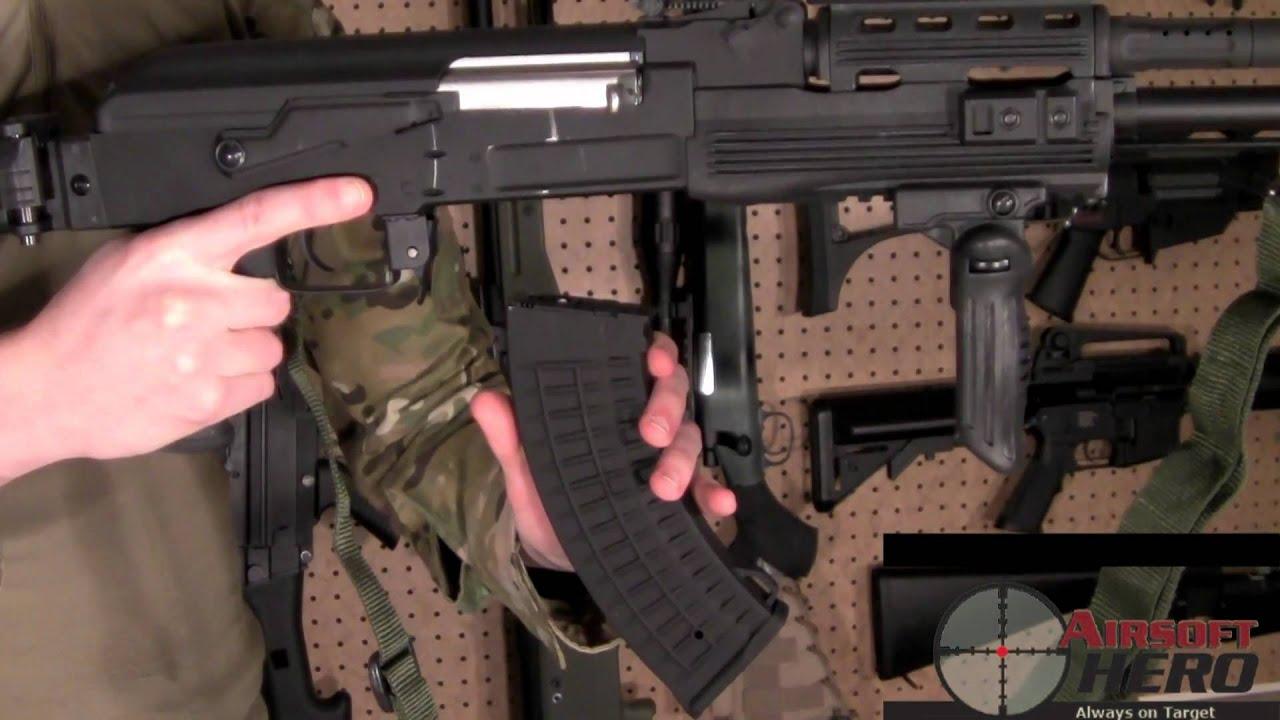 Airsoft Hero REVUE: Pistolet électrique Airsoft AK60 60e anniversaire de Cybergun Kalashnikov -ASTKilo23-