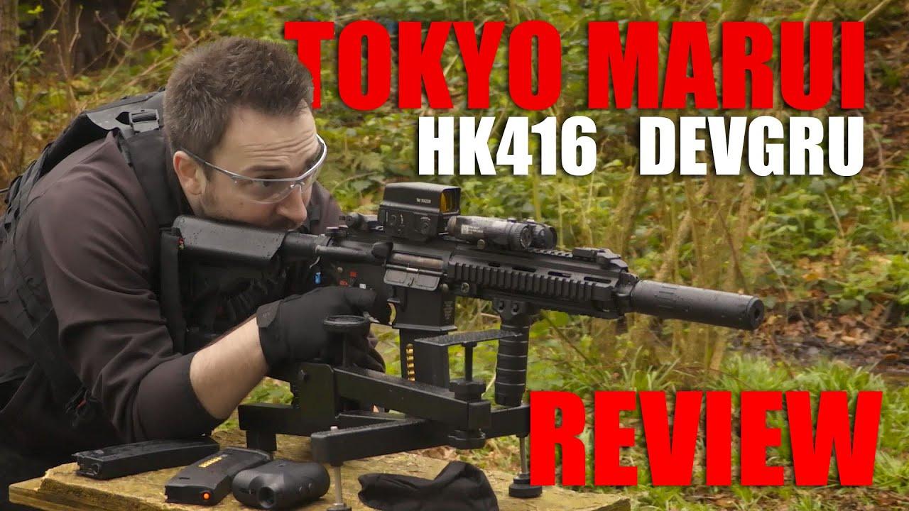 TM HK416 DEVGRU Review | Georaga Airsoft