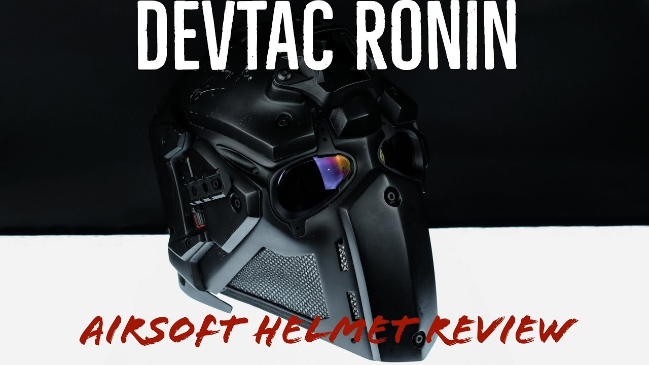 Devtac Roninn Airsoft Helmet Review