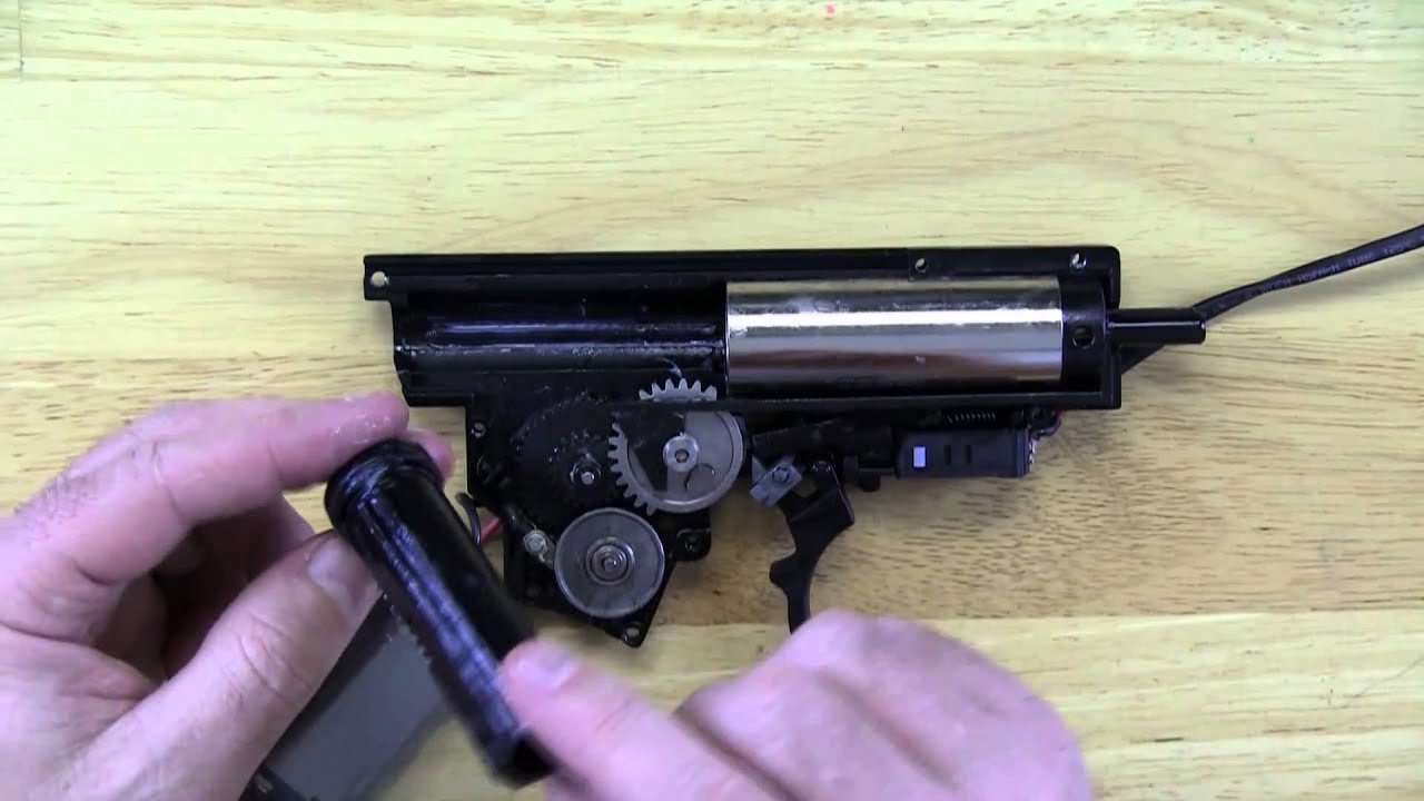 Examen interne Pistolet Airsoft H & K G36c par Ares