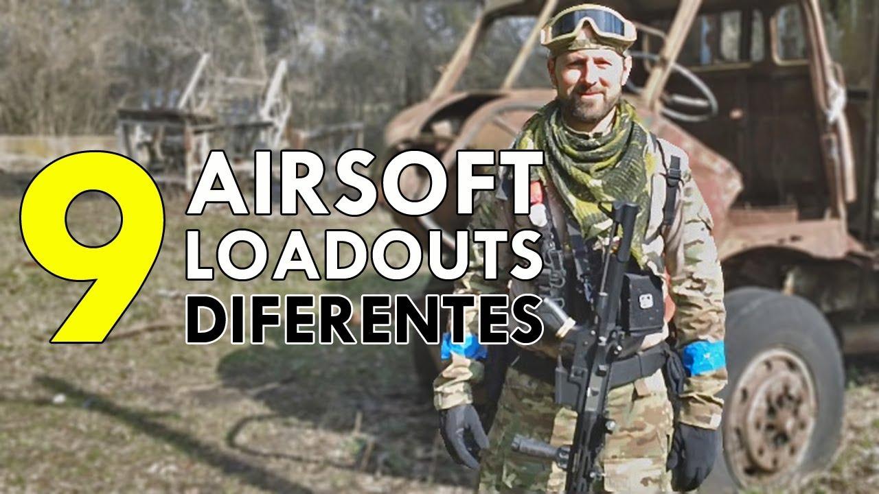 Quelle est votre charge Airsoft? 9 STYLES DIFFÉRENTS!