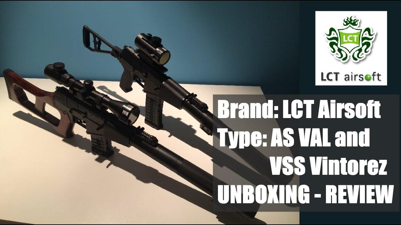 Avis Airsoft – LCT AS VAL & LCT VSS Vintorez