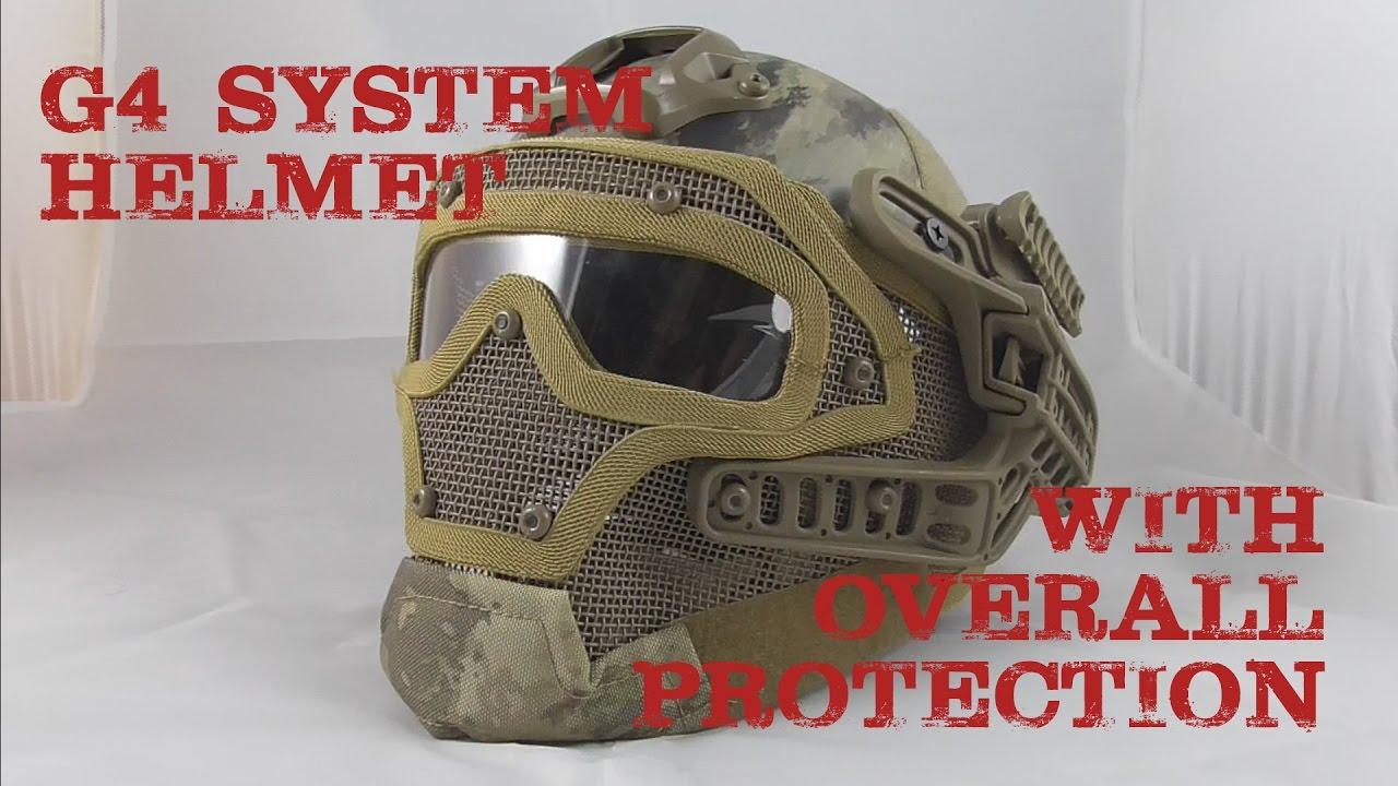 AIRSOFT | REVIEW | À confirmer | Casque PJ Système / Set G4 avec protection totale AT (ENGLISH SUBS)