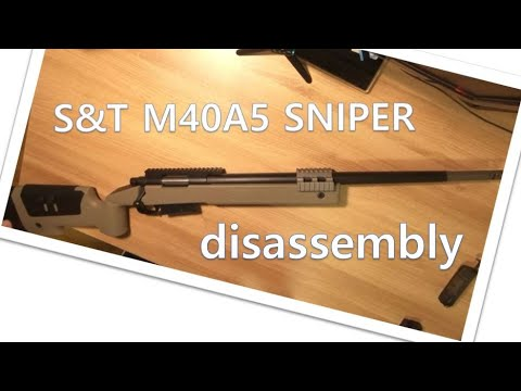 [ Airsoft review ] Battlefield 4 sniper S & T M40A5 – Test & Désassemblage | Shawn Airsoft