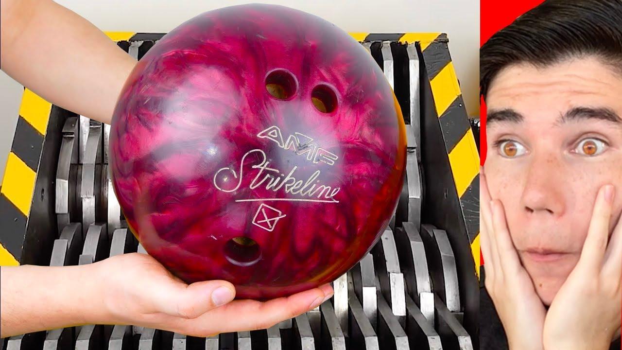 EXPÉRIENCE: SHREDDER vs BOWLING BALL!