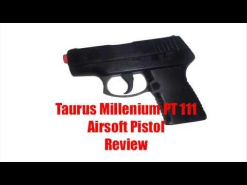Test du pistolet Taurus Millenium PT111 Airsoft