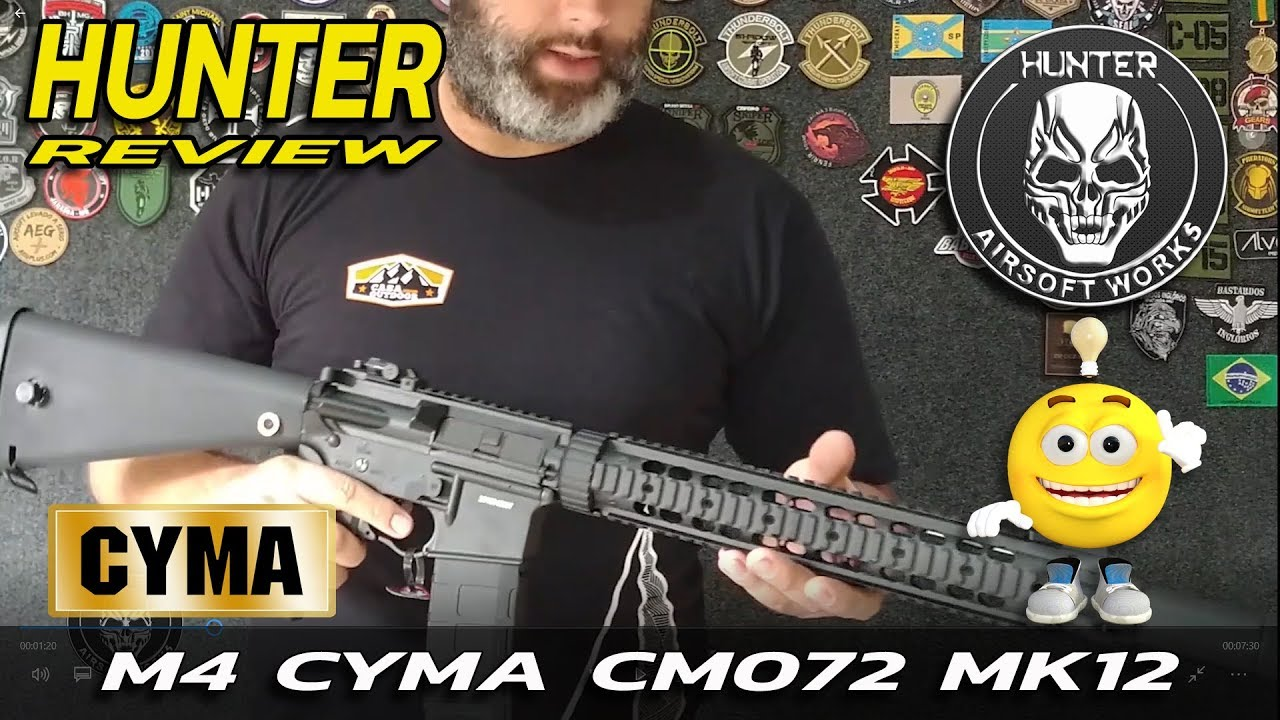 REVIEW HUNTER AIRSOFT – CYMA CM072 MK12