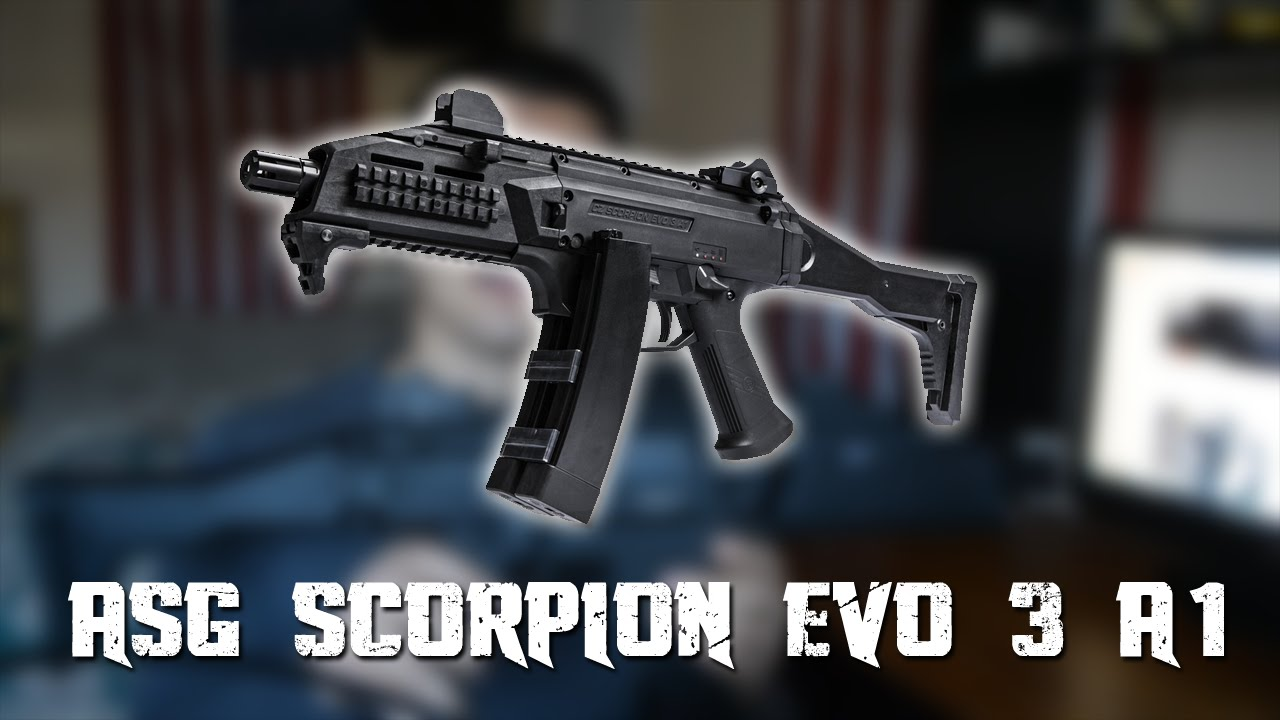 ASG Scorpion Evo 3 A1   Airsoft Review & Gameplay – PASSAGE DE PISTE AIRSOFT!