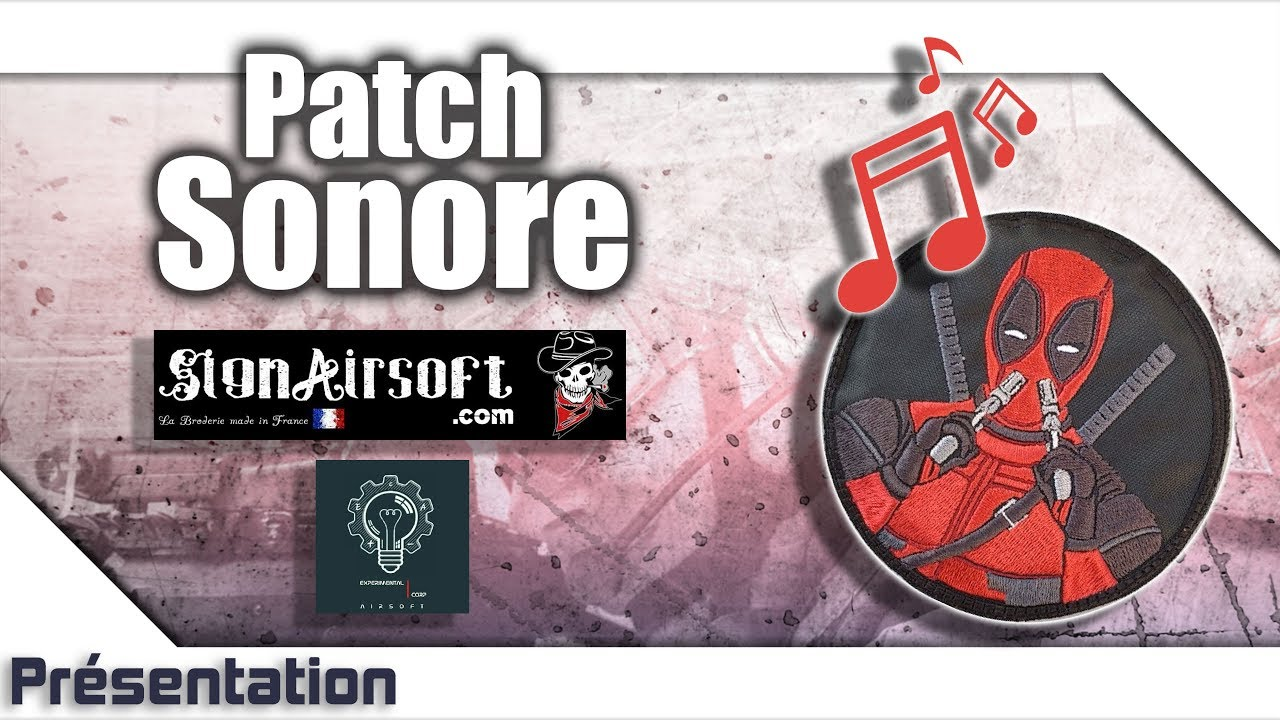 [Patch sonore – Sign Airsoft/Experimental Corp Airsoft] Présentation | Review | Airsoft FR – EN subs