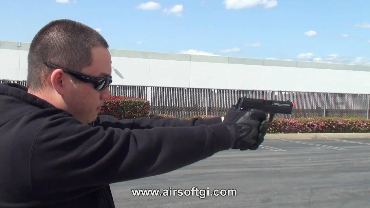 Airsoft GI – Pistolet à air comprimé Heckler Koch USP de KWA