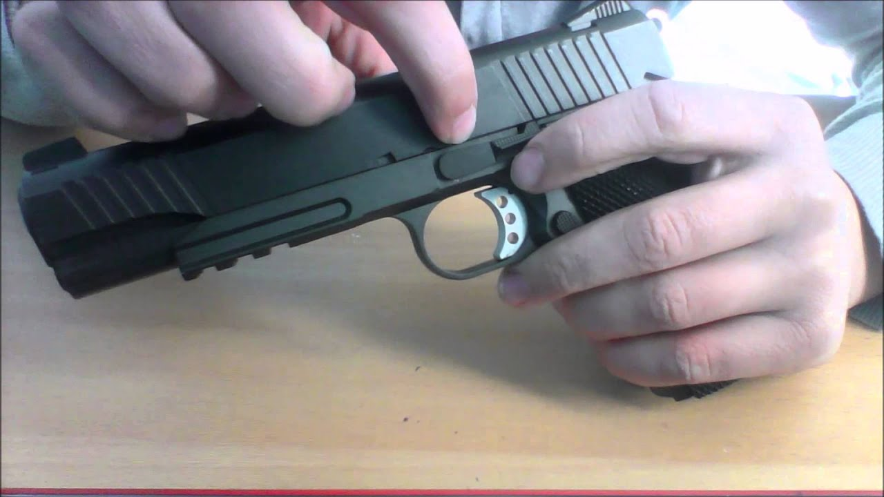 [AIRSOFT] Review du pistolet G194 ou COLT 1911