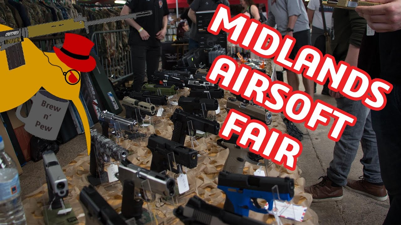 Brew N & # 39; Pew: Midlands Airsoft Fair Review