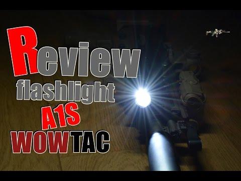 [Airsoft Français] Review flashlight A1S WOWTAC | Le top du top!?