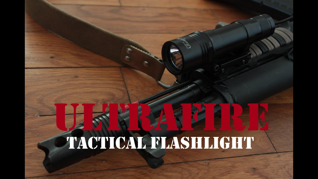 AIRSOFT | REVIEW | À confirmer | Lampe de poche tactique Ultrafire UF-762 (ENGLISH SUBS)