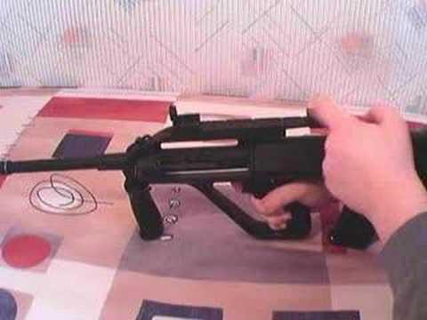 Avis de pistolet Airsoft: Jing Gong Steyr AUG JG
