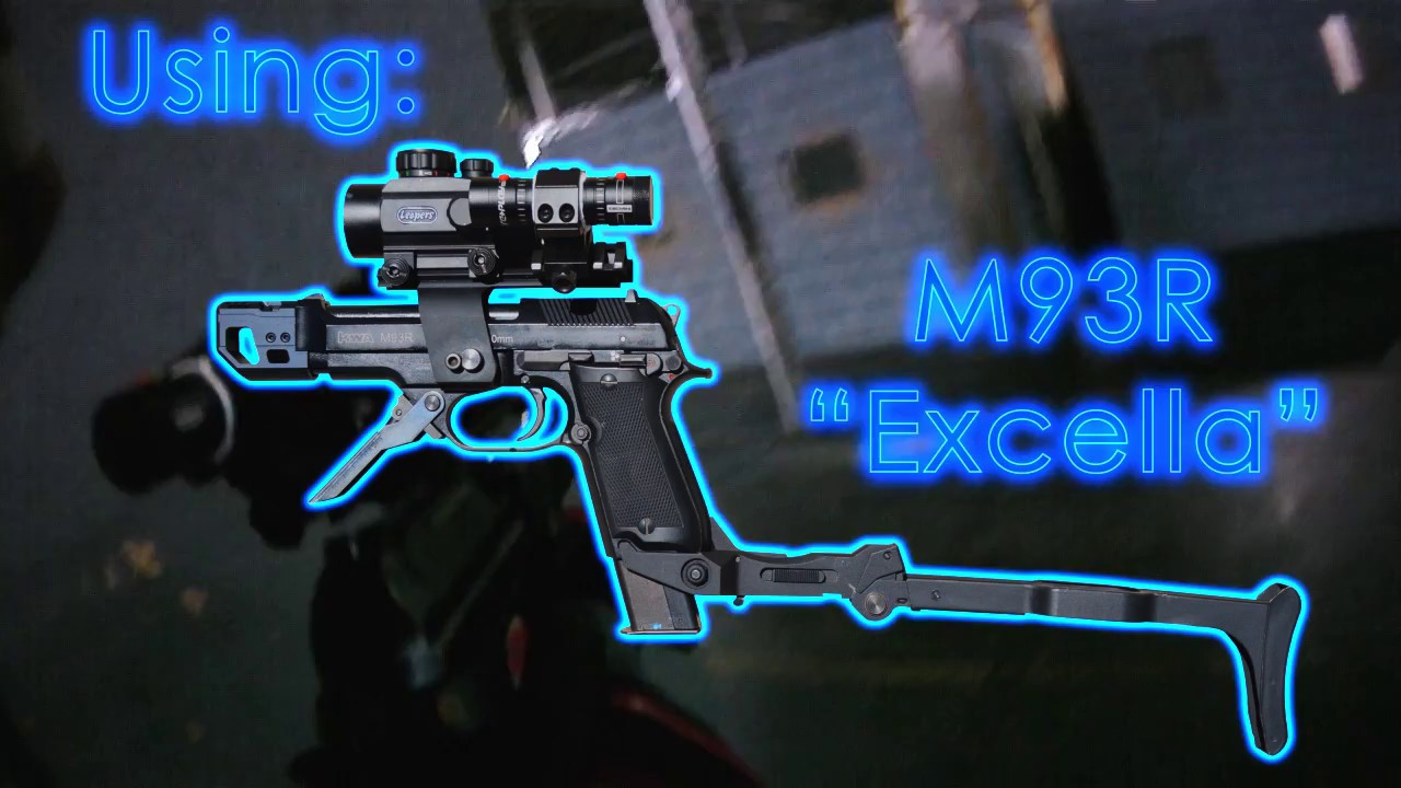 "CRAZY AIRSOFT CQB GUN EN ACTION! Custom M93R ""Excella"" au Bataillon"