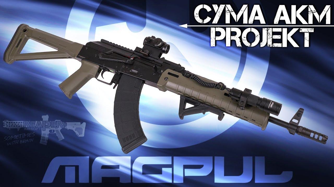 [Projekt] Cyma AKM Magpul avec accord (AK74, AK47, Skeleton) 6mm Airsoft / Softair 4K UHD