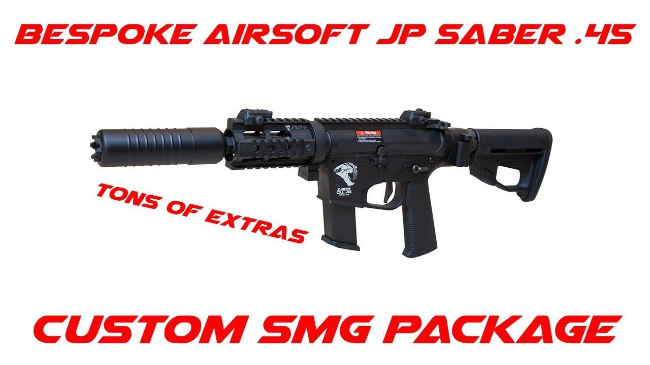 Bespoke Airsoft JP Saber .45 – Emporter à la maison Ep.4