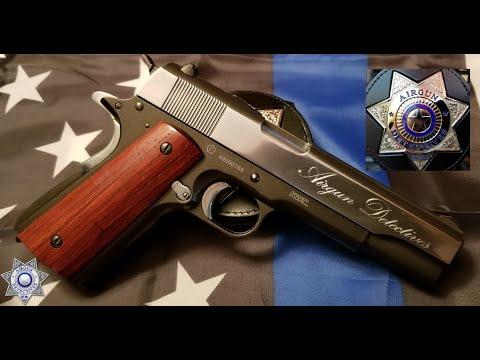 """Témoin Tanfoglio, KWC, 1911 Co2 .177 Blow Back """"Examen complet"""" par des détectives d'armes à feu"""