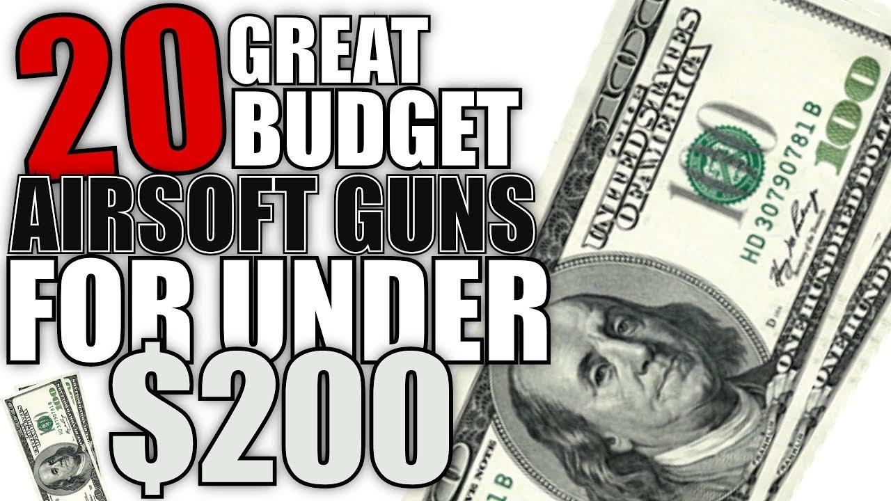20 pistolets Airsoft à petit prix pour moins de 200 $ – Airsoft Guide pour débutants